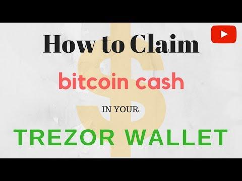 How To Get Bitcoin Cash (BCC/BCH) Off Trezor   Claim BCC Off My Trezor   Bitcoin Basics