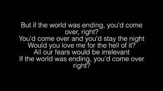 JP Saxe, Julia Michaels- If The World Was Ending Lyrics