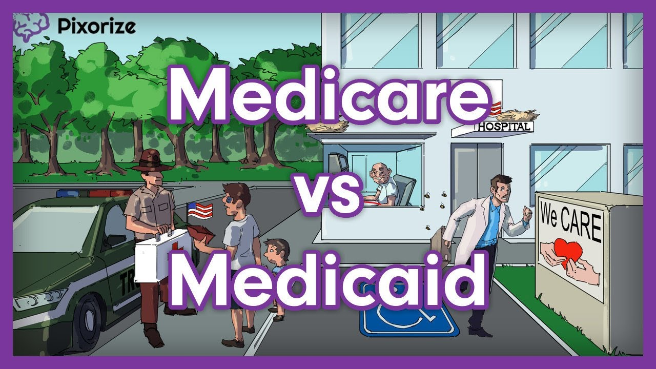 Medicare vs  Medicaid | Mnemonic for USMLE