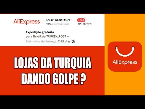 NOVO GOLPE NO ALIEXPRESS - TURKEY POST