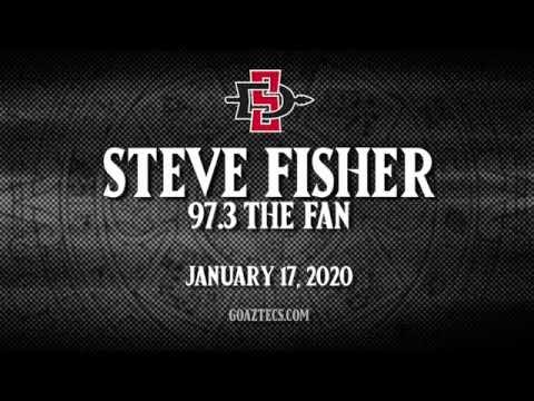 SDSU MEN'S HOOPS: STEVE FISHER - 97.3 THE FAN