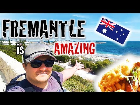 FREMANTLE - BEAUTY TOWN With BEST FISH N CHIPS - Travel Australia