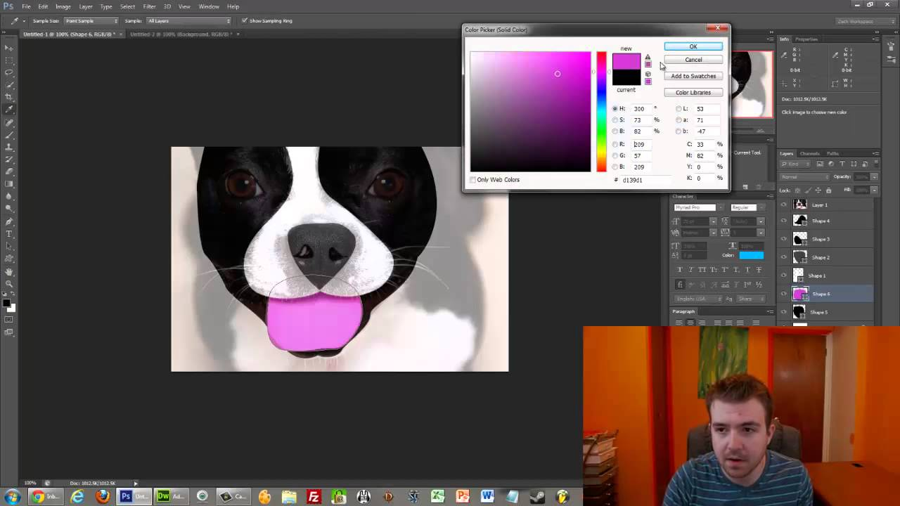 How To Do Graphic Design In Photoshop Illustrator With The Pen Tool