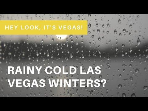 What's A Winter Storm In Las Vegas Like? Rainy Weather In Las Vegas!