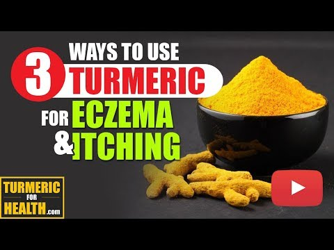 3 SIMPLE Ways To USE Turmeric for ECZEMA AND ITCHING