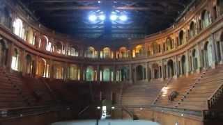 Parma Teatro Farnese nel Palazzo della Pilotta - mini video