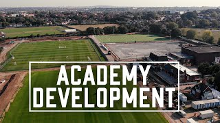 DRONE OVER THE ACADEMY | Redevelopment Update