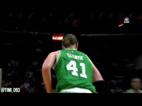 Kelly Olynyk Highlights vs Miami Heat (14 pts, 4 ast, 2 blk)