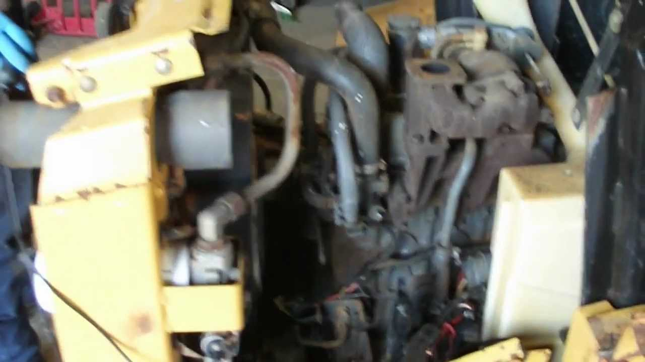New Holland Lx665 Skidsteer Engine Video Demo