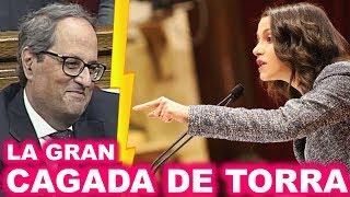 La GRAN PILLADA de Inés ARRIMADAS a Quim TORRA que le ha dejado