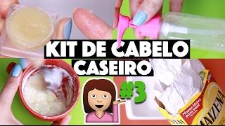 KIT DE CABELO CASEIRO #3 - TUDO QUE SEU CABELO PRECISAVA! 😎 | KIM ROSACUCA