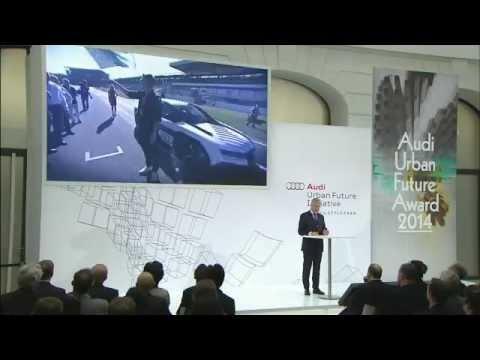 Audi Urban Future Award 2014 - Speeach Rupert Stadler   AutoMotoTV