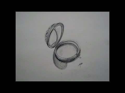 How to draw a mirror pencil art youtube for Mirror drawing