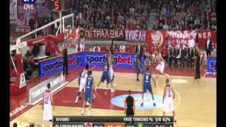 Highlights Olympiacos - Khimki 89 - 77 Top 16 Euroleague 5 2 16
