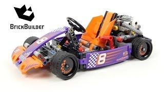 Lego Technic 42048 Race Kart - Lego Speed build