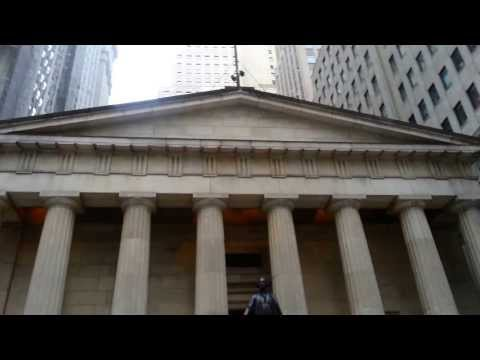 Federal Hall National Memorial on Wall Street (New York 2014)