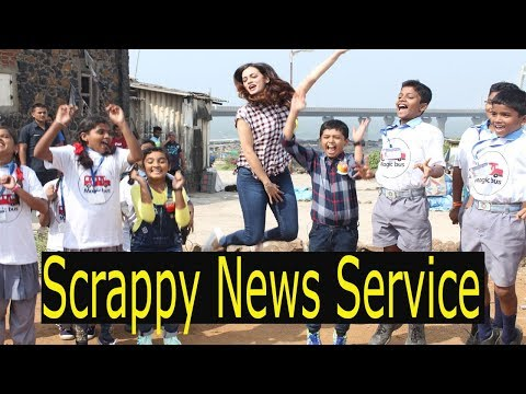 Dia Mirza Jackky Bhagnani At The Grand Launch Of Scrappy News Service | Bollywood Events