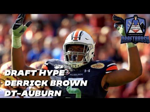 Derrick Brown, Auburn- NFL Draft Hype Scouting Profile