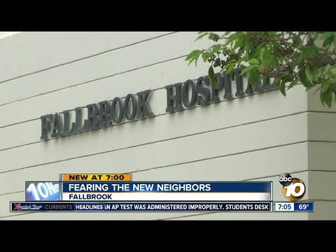 Fallbrook residents distressed over proposed mental health facility