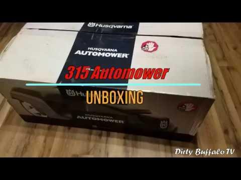 Unboxing A Husqvarna Automower (315, 430X, 450X)
