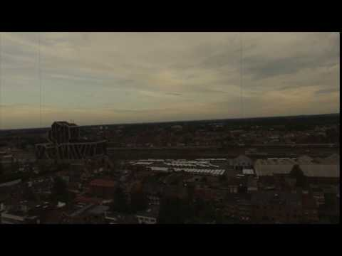 Station Hasselt drone timelapse