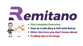 Remitano Complete Tutorial👉How to Trade (Buy & Sell for Naira) | Other Services, Tips & Strategies