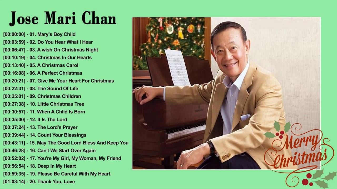 Jose Mari Chan Christmas Songs 2019 - Jose Mari Chan Best Album Christmas Songs of All Time ...