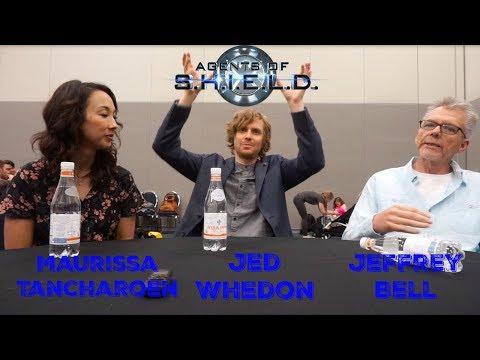 Agents of SHIELD: Maurissa Tancharoen, Jed Whedon & Jeffrey Bell