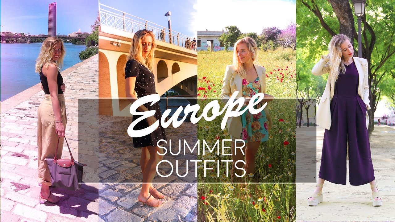 WHAT TO PACK | How to look good and stay cool | European Summer 2