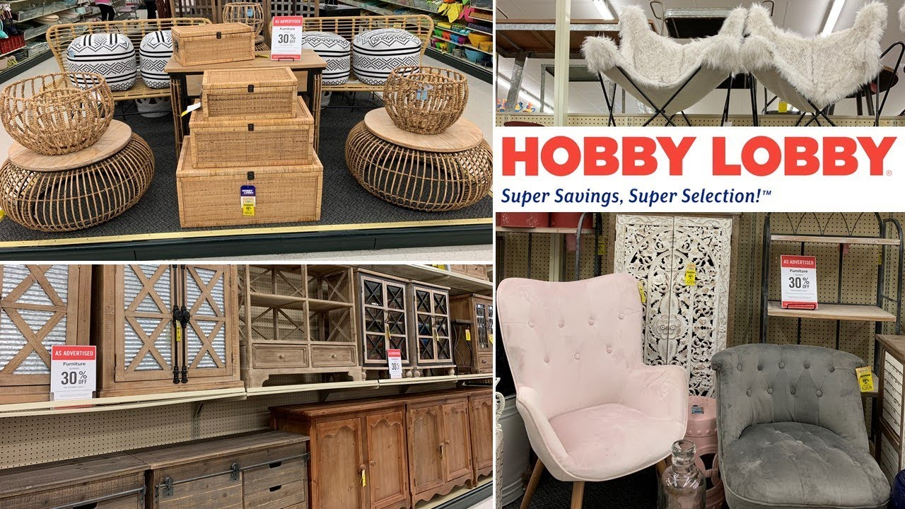Hobby Lobby Farmhouse Furniture | Shop With Me March 2019 ... on Hobby Lobby Online Shopping id=40604
