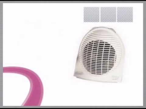 delonghi hve134 upright fan heater youtube. Black Bedroom Furniture Sets. Home Design Ideas
