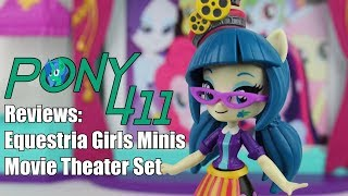 Pony 411 Reviews: Equestria Girls Minis Movie Theater Set (w/ Juniper Montage)