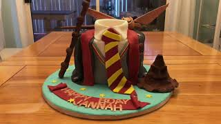 Harry Potter Cake Showcase ~ Tutorial At 20 Subscribers