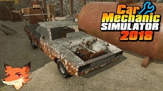 On restaure une perle trouvée à la féraille! | Car Mechanic Simulator 2018