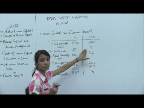 Human Capital Formation in India _ Part2 _ Human Capital & Economic Growth _ Kavya Singhal