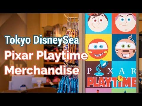 Pixar Playtime Merchandise 2018 at Tokyo DisneySea