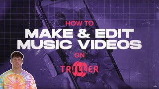 Want to learn how to make a music video? #trillertips screenshot 2