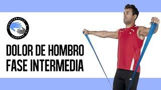 Sindrome subacromial, ejercicios para la fase intermedia
