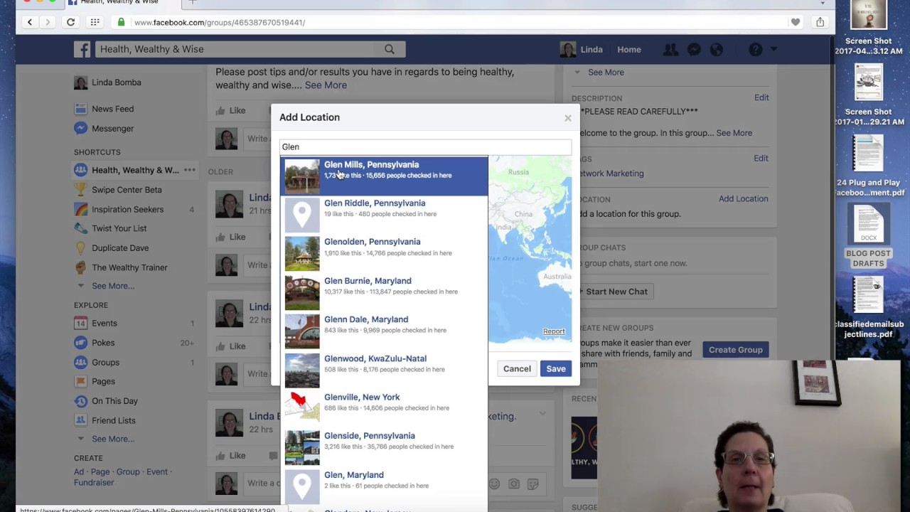 How To Add A Location To A Facebook Group