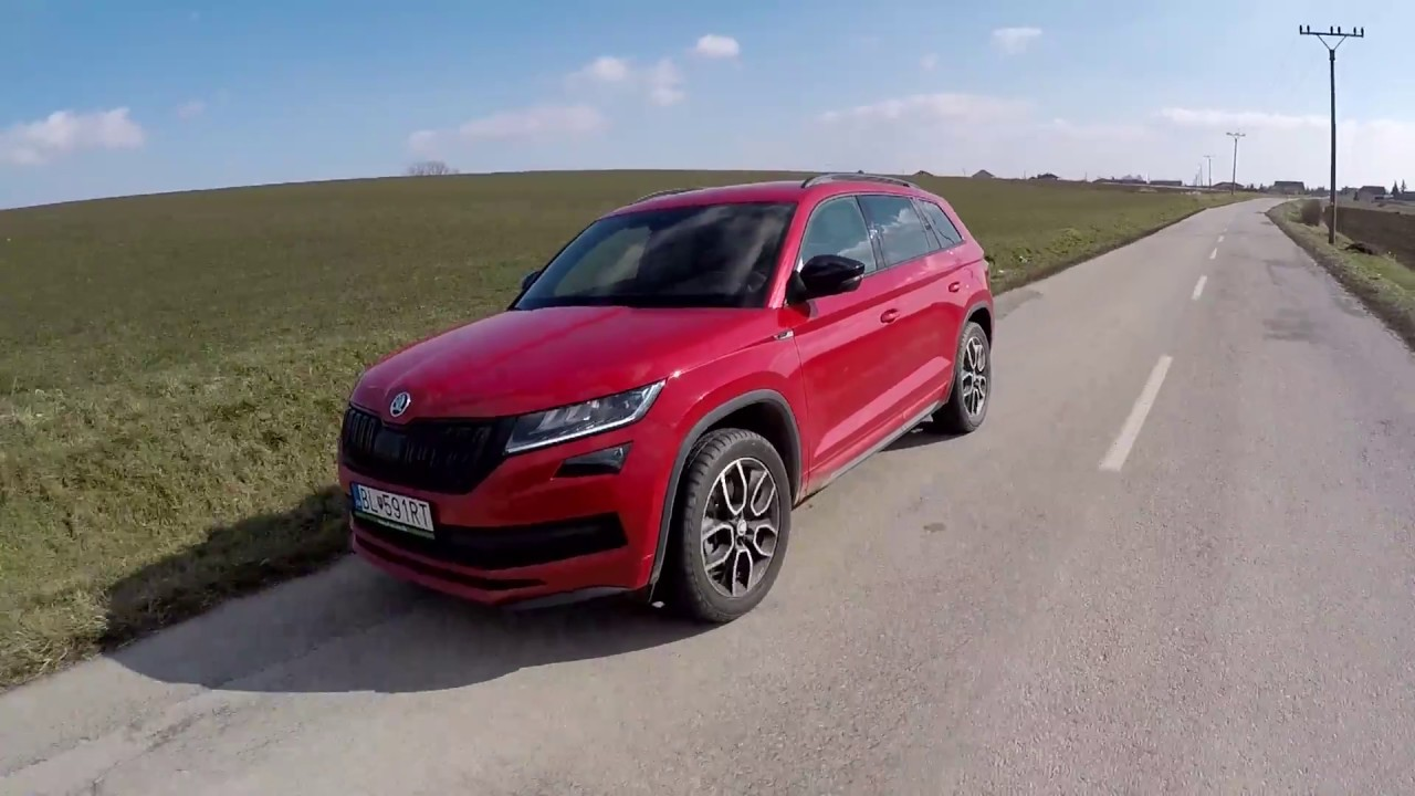skoda kodiaq sportline 2 0 tsi youtube. Black Bedroom Furniture Sets. Home Design Ideas