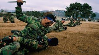 Republic of Korea ROK Army Krav Maga knife fighting training