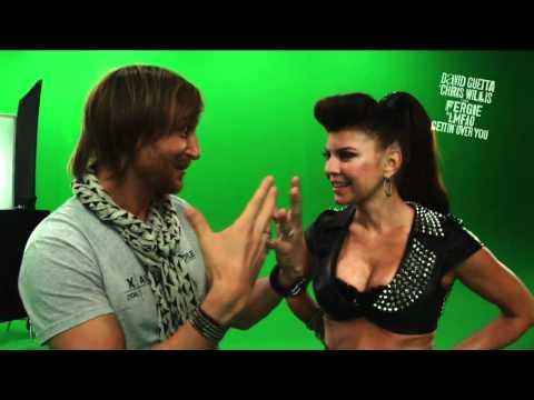 David Guetta  Chris Willis ft Fergie  LMFAO - Gettin Over You Behind The Scenes