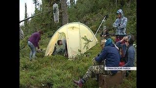 В природном парке Ергаки идут съёмки полнометражного художественного фильма «Двое»