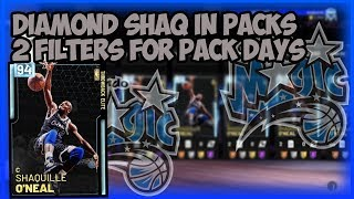 NBA2K19 DIAMOND SHAQ IN PACKS - FILTERS I USE TO MAKE MT ON PACK DAYS - TBT ELITE