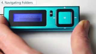 04. The Dick Smith MP3 Player -  Navigating folders & other things - Part 4