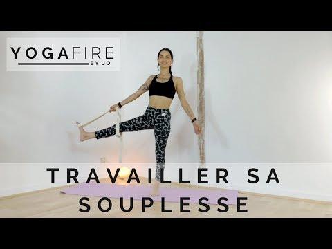 Travailler sa souplesse - Yoga Fire By Jo - YouTube a38fa681b05
