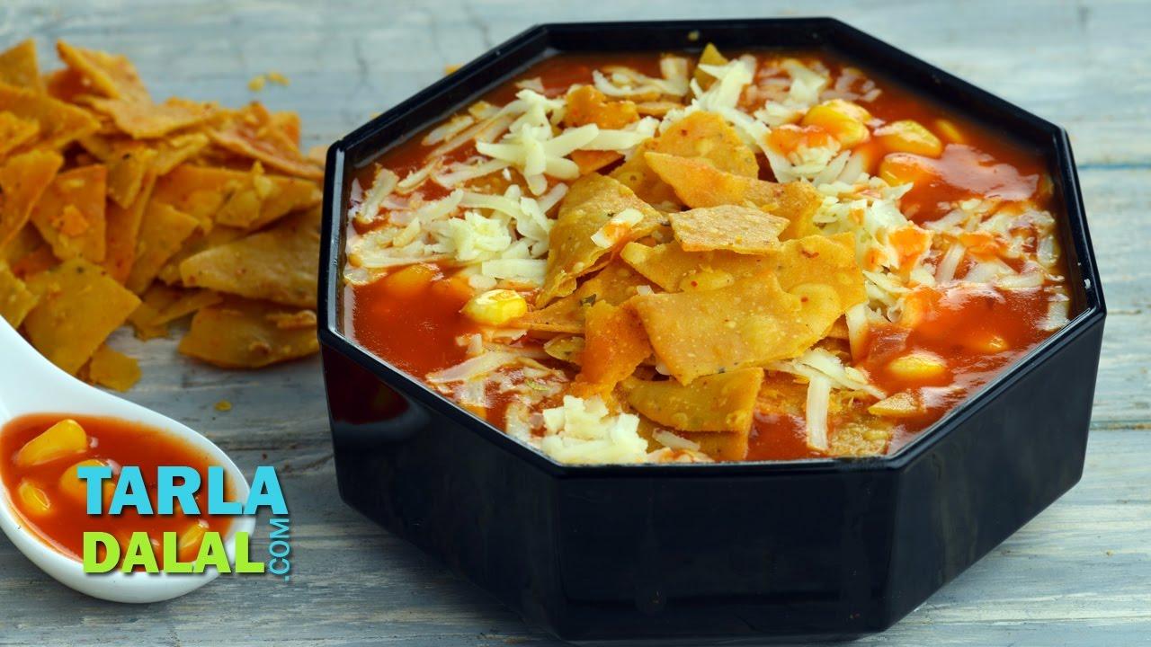 mexican nacho soup veg recipe by mexican nacho soup veg recipe by tarla dalal forumfinder Gallery
