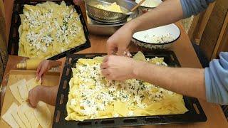 Su Böreği Tarifi | Su Böreği Nasıl Yapılır | Easy Cheese Borek Recipe