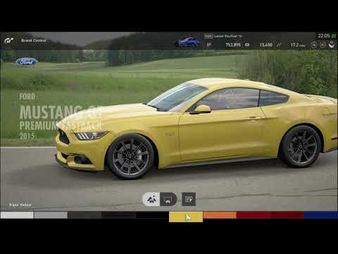 Grand Turismo Sport Car Buying - Mustang GT
