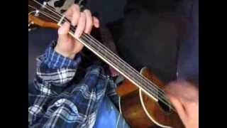 teardrops - womack & womack - baritone uke
